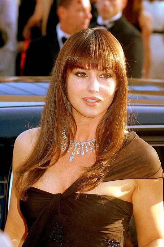 who I like Monica Bellucci
